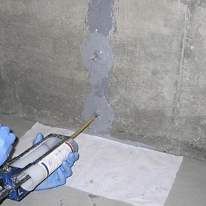 repairing foundation cracks